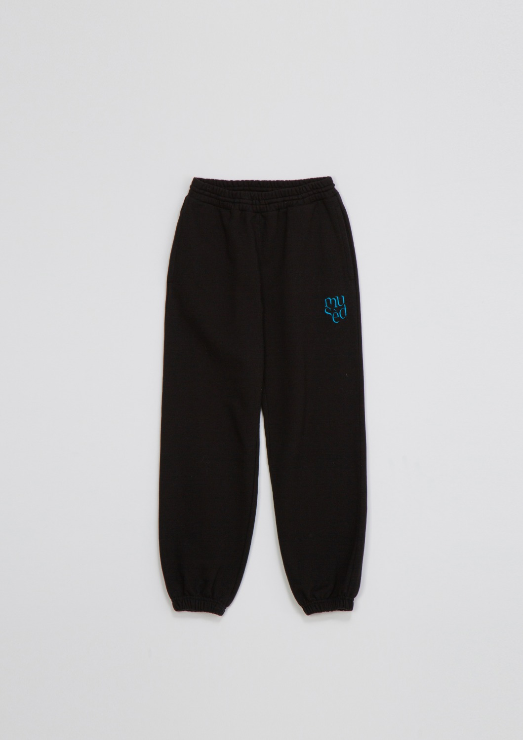 Mused Sweat Track Pants - Black