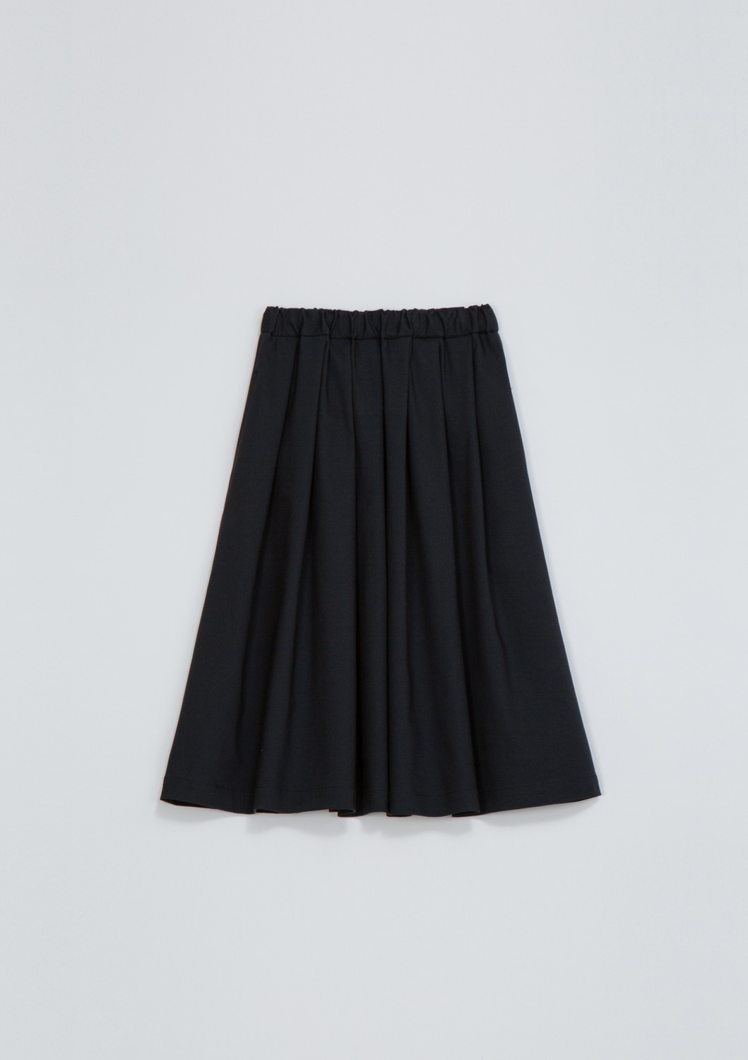 Layla Skirt - Navy Cotton Blended